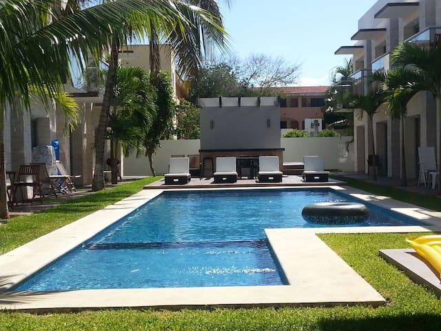 Hermoso estudio en Playacar dpto 4107 - Playa del Carmen - Apartment