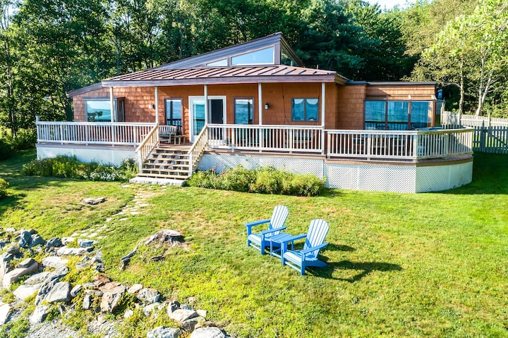 Oceanfront Trenton Home w/ Porch & Acadia Views!