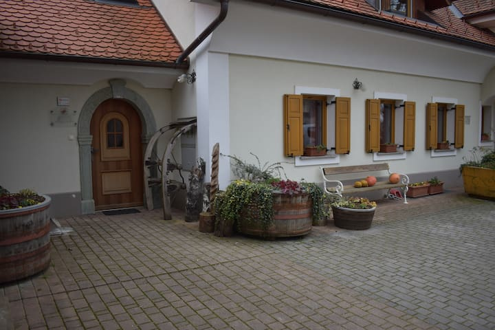Appartment on organic farm north of Slovenia