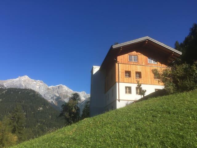 Bergappartements in Tirol - Obergeschoss