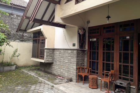 Cozy rooms in the vibrant northern side of Yogya - Kecamatan Depok - Haus