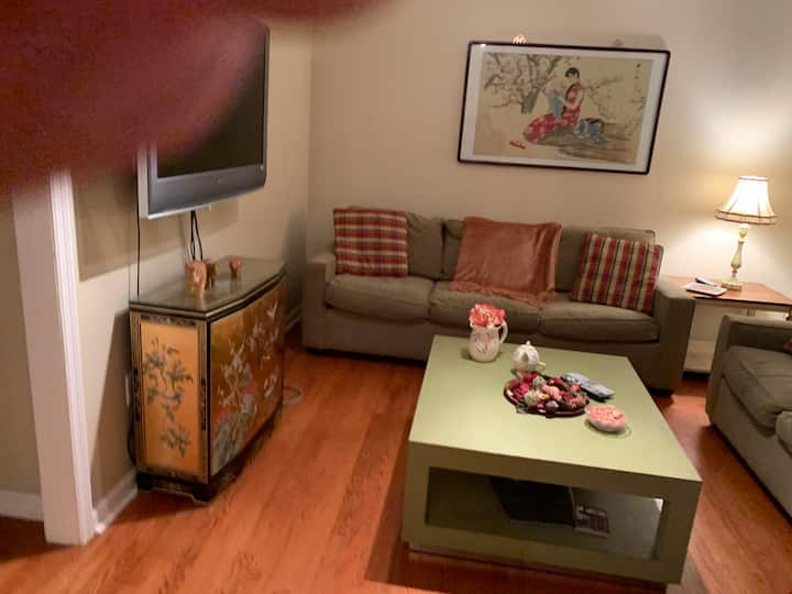 Charming King Size Bed Apartment - Many Amenities