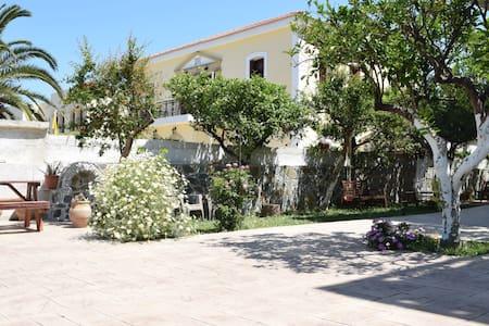 Casa céntrica con un relajante jardín