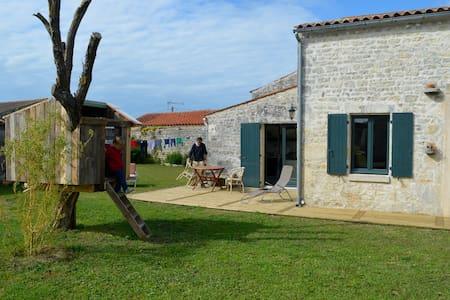 Little house near the beach - Saint-Pierre-d'Oléron - Hus