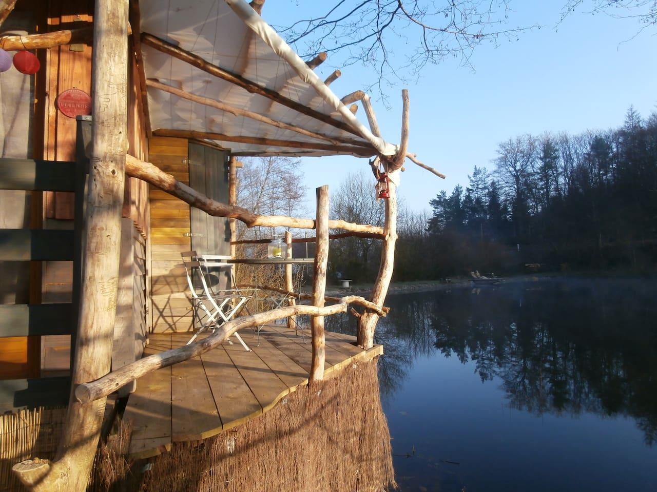 La Cabane de l'aventurier.