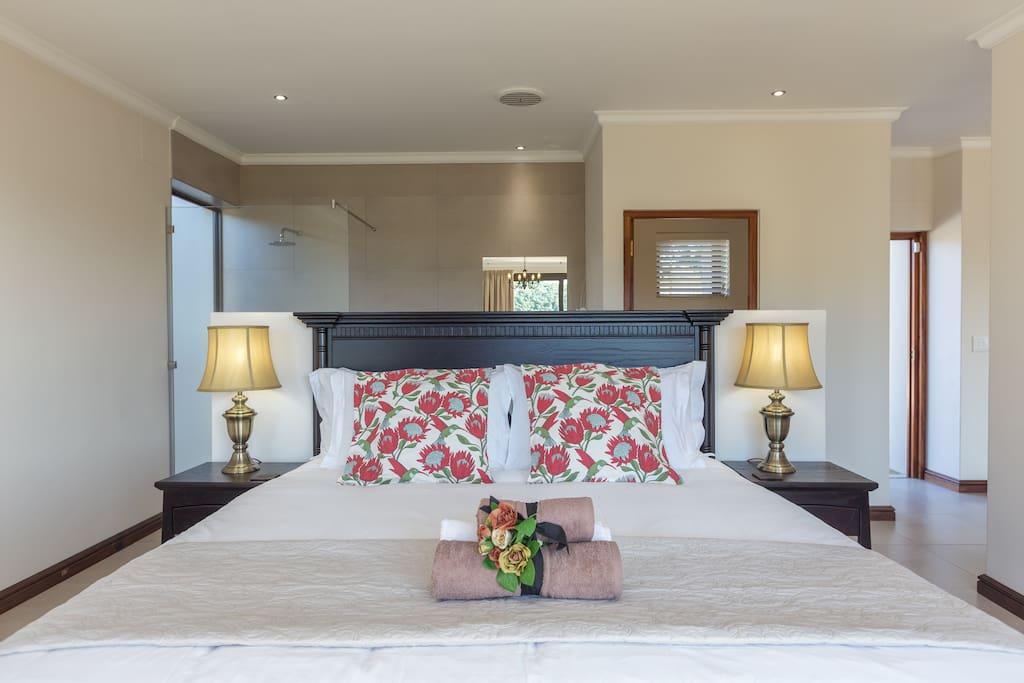 Main bedroom Keurkloof 5