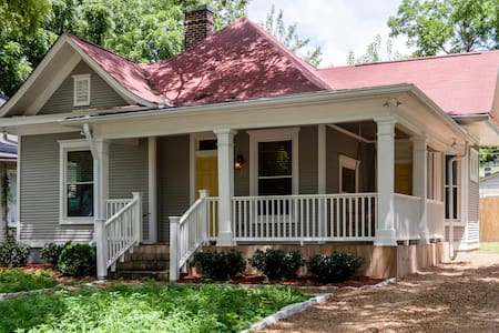 Historic East Nash Retreat, 7 mins 2 Downtown/Bway - Nashville - Ház