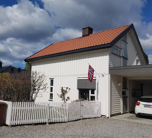 Cosy home in Hønefoss, 1 hour from Oslo