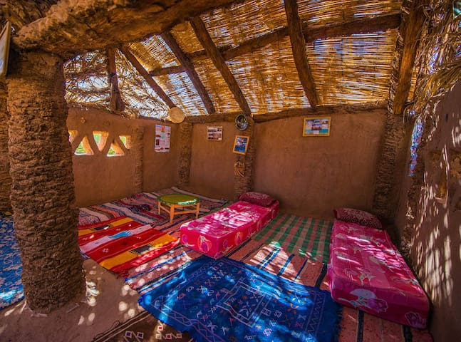 4 People (Cabana) - Authentic Saharan Guesthouse - Mhamid - Pensione