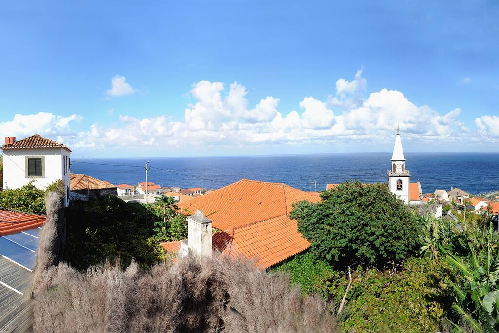 Casa da Torre (on the left) and its amazing view.