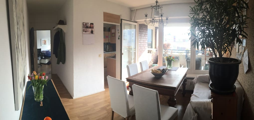 Dining room, next to the kitchen and balcony