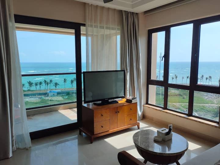 博鳌湾亮点度假/11高层海景/在镇中心/2房2厅