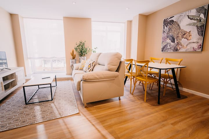 Apartamento Rúa Vella, 2 habitaciones, 4 personas
