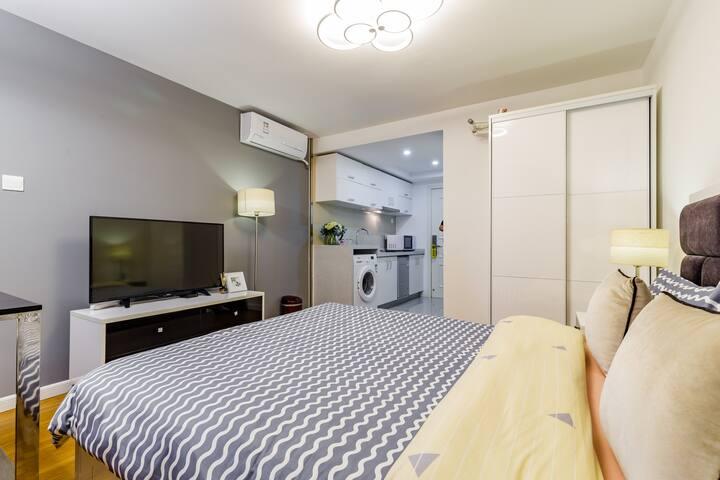 「悦·享」ROOM 4 韩国城 优质简约 豪华黑科技 温馨大房间