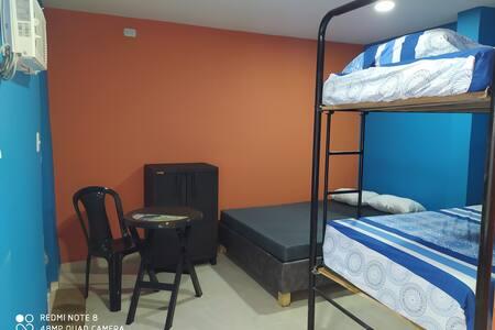 Habitación perfecta para una familia feliz