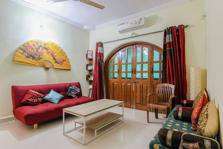 Homely 2bhk apartment in Candolim