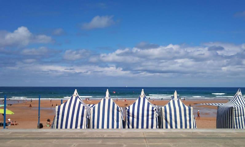 Egona-FRBA Coqueto a 150mts de la  playa Zarautz