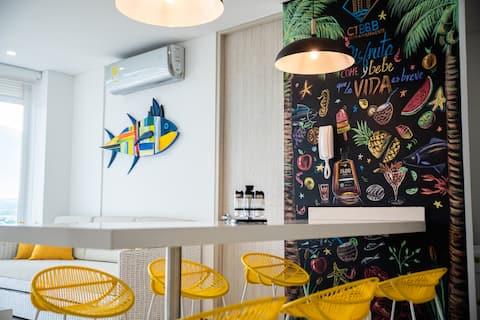 Luxury Apartment IROTAMA Beach Close to ZAZUE MALL