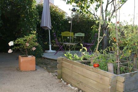 Le Jardin de la Fontaine, studio à 800 m de la mer - Pornic - Ev