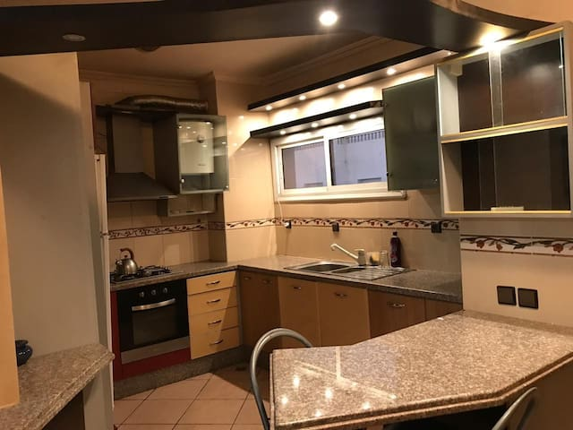 Appartment with 2 double beds