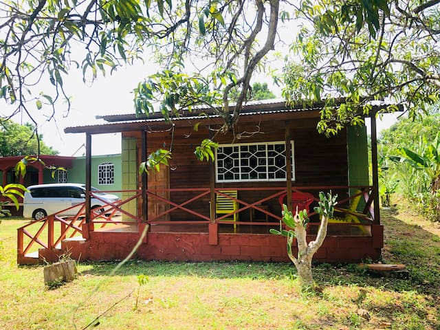 homey Jamaican cottage