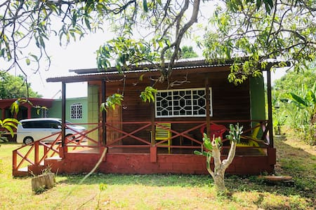 homey Jamaican cottage