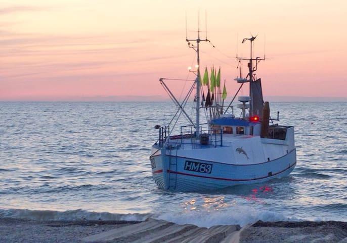 Fiskerlejet i Jammerbugt. - Fjerritslev - Casa
