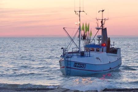 Fiskerlejet i Jammerbugt. - Fjerritslev