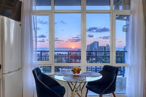 Luksusowy apartament nad morzem