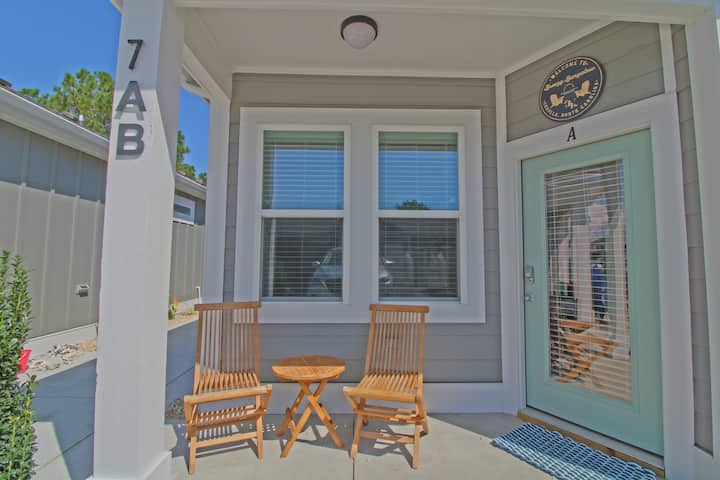 Breezy Bungalow at Beacon Quarters is a Newly Built 2 Bedroom Condo in Corolla!