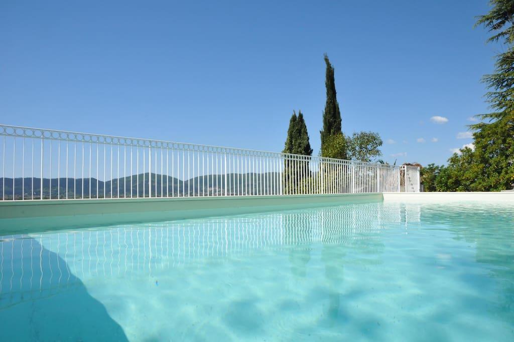 Villa Collina del Sole with Infinity pool 5x10