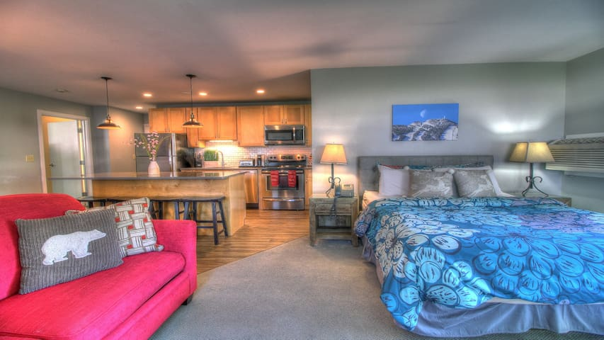 Beautiful Suite! Modern, Pool, 2RM, 2BA, Mtn Bike