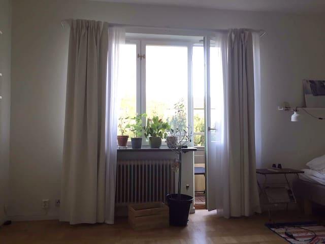 Mysig lägenhet nära Lund C. - Lund - Appartement