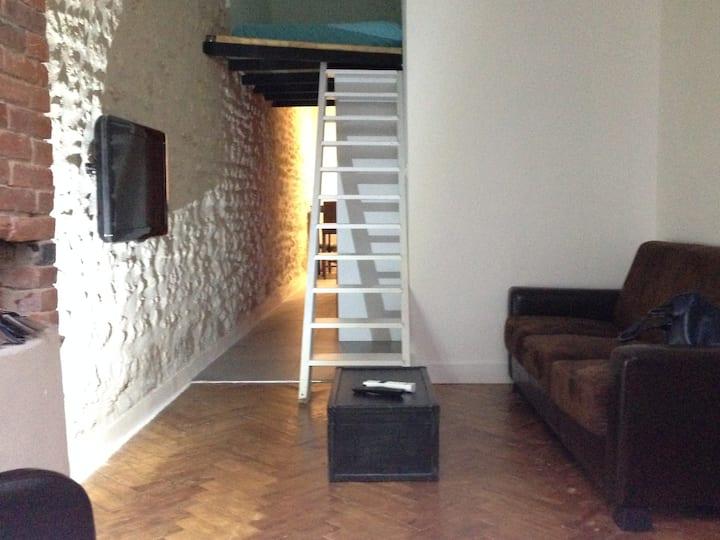 Appartement  Royan  vintage 100 m plage Mezzanine
