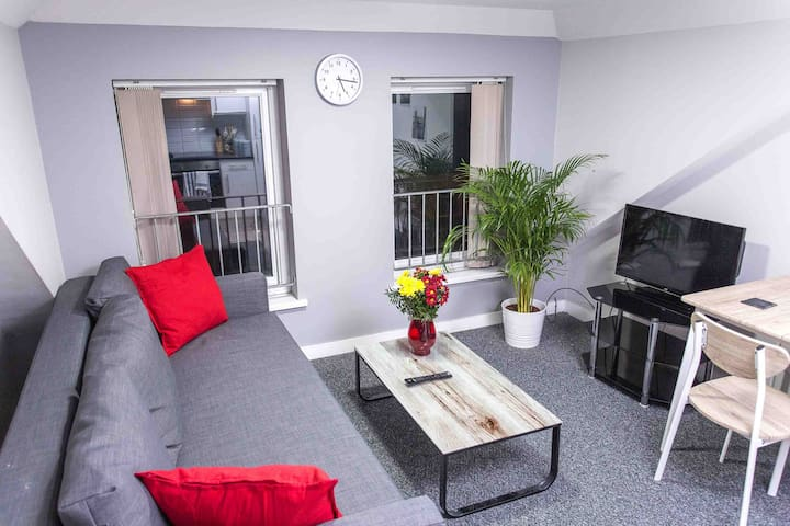 Up to 6 PEOPLE, City Centre, 2 bedroom apartment