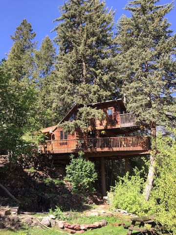 Rocky Mountain Treehouse - Carbondale - Trjáhús