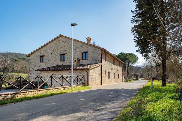 Maison de vacances à Pietrafitta Piegaro avec jardin