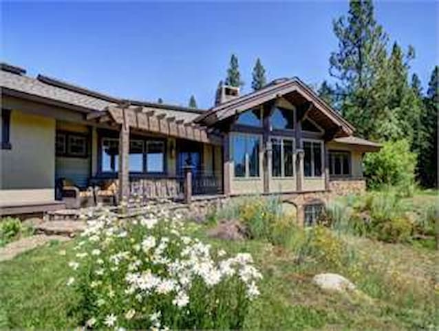 Lovely French-style mountain home N. of McCall - New Meadows - Maison