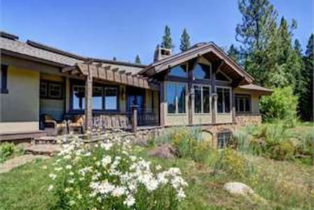Lovely home N. of McCall -Last wks 4 spring skiing - New Meadows - Casa