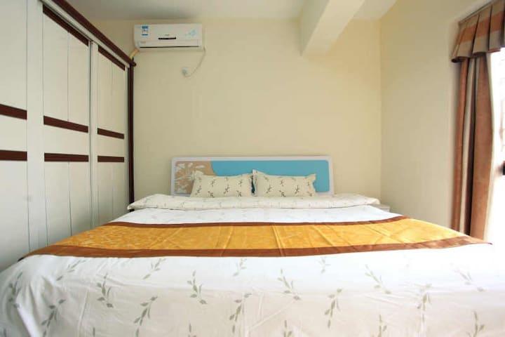 地王大厦 金基一百附近酒店公寓大床房 全新舒适 带厨房可做饭 - 深圳市 - Apartment