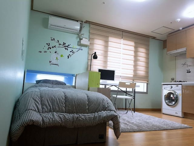 L1 cosy, 10mins to Airport, Downtown  Ochang,