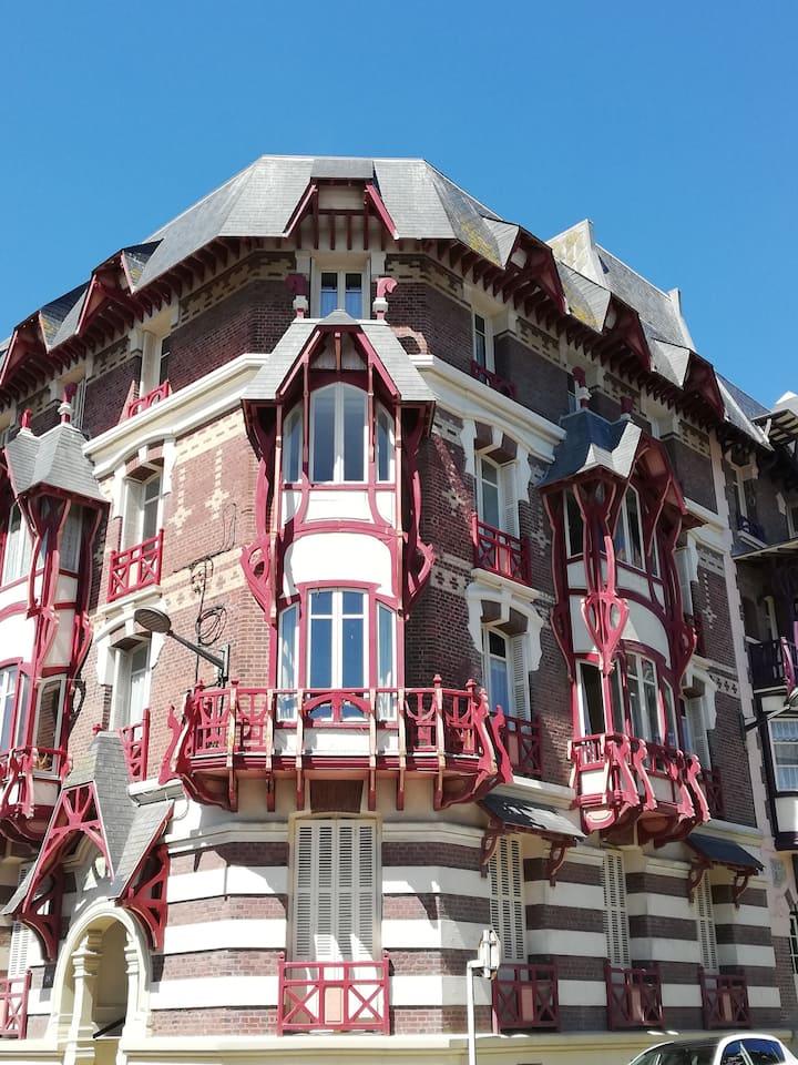 Villa La Française, architecture Belle Époque