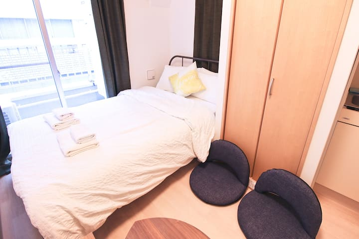 Uhome Kanda Hotel, one stop to Tokyo sta. KD402