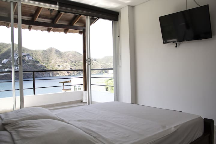 Beautiful OceanFront House in Taganga 3 Bedroom