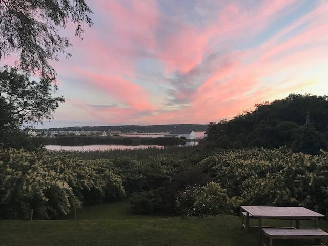 Montauk Home w Spectacular Water and Sunset Views