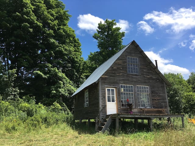 CABIN ON OUR ORGANIC FARM - Saint Johnsville - Stuga