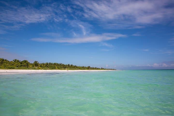 Beach House in Nature Preserve