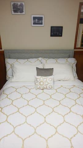 Queen size super plush bed