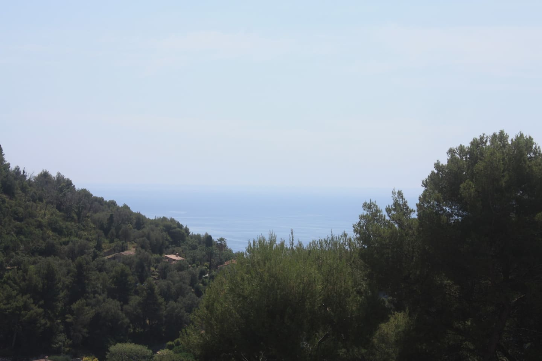 Vue mer et montagne