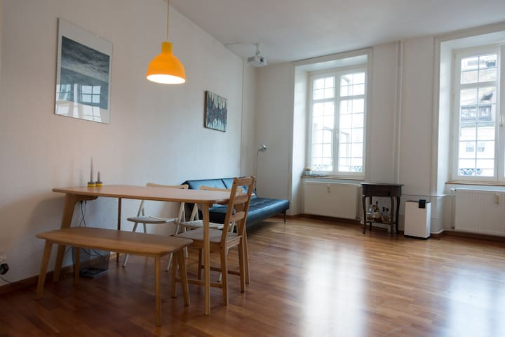 Modern flat in Basel's old town #BASELWORLD #ART - Basel - Apartment